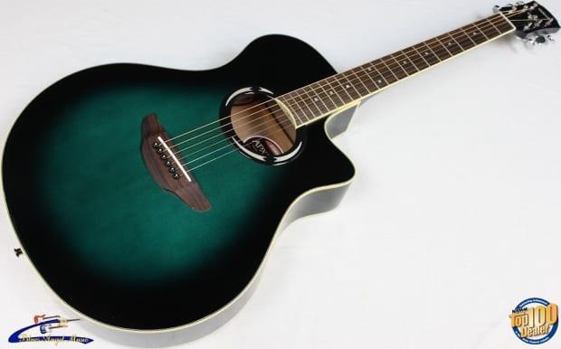 Yamaha Apx500ii Thinline Cutaway Acoustic Electric Guitar