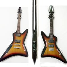 12 String /6 String Lead  Double Neck, Double Sided,  Busuyi Guitar  Venum V1 image