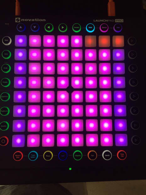 novation launchpad pro 2016 with ableton live lite reverb. Black Bedroom Furniture Sets. Home Design Ideas