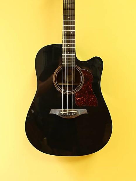 hohner cd 65ceq tbk acoustic electric guitar reverb. Black Bedroom Furniture Sets. Home Design Ideas