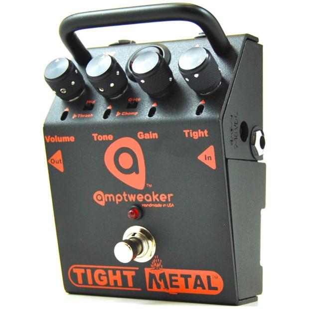 amptweaker tightmetal high gain distortion guitar effect reverb. Black Bedroom Furniture Sets. Home Design Ideas