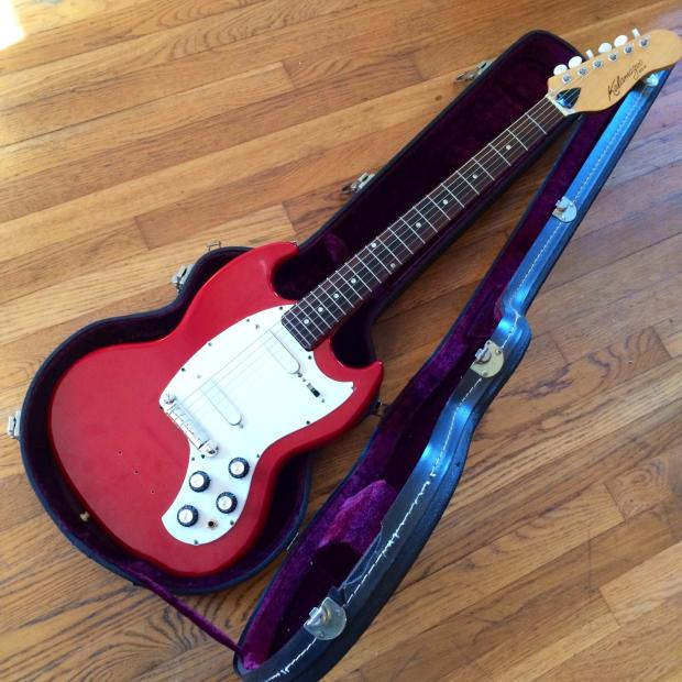gibson kalamazoo kg 2 electric guitar 1965 red original vintage melody maker sg style reverb. Black Bedroom Furniture Sets. Home Design Ideas