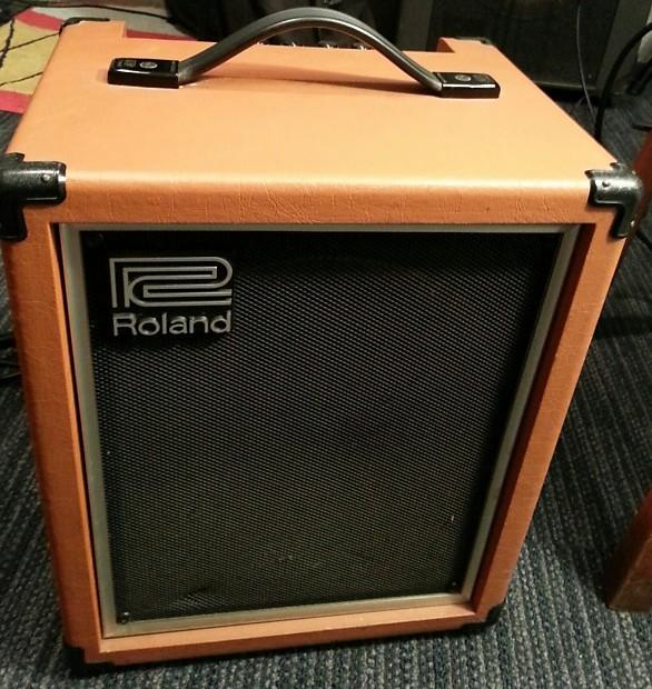 roland cube 60 bass amp 1980s orange reverb