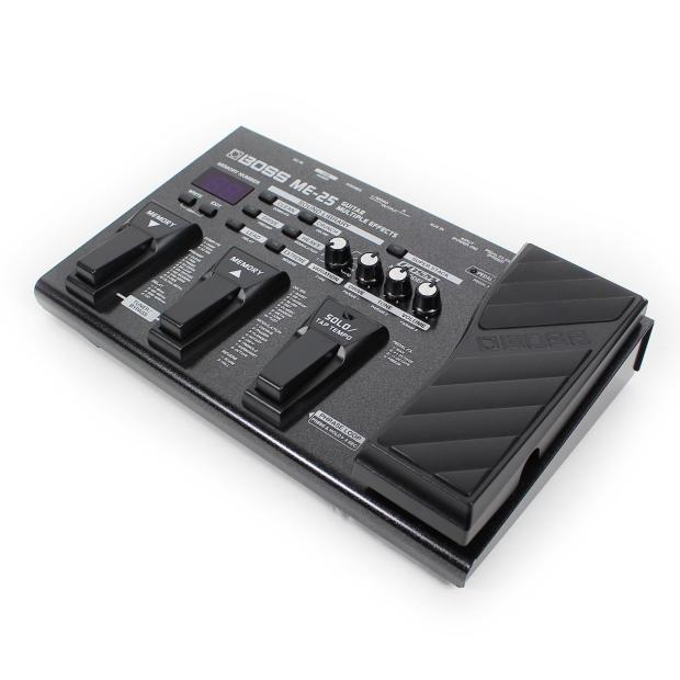 boss me 25 guitar multi effects pedal processor reverb. Black Bedroom Furniture Sets. Home Design Ideas