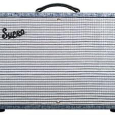 "Supro 1650RT Royal Reverb 2x10"" 35/45/60 Watt Tube Guitar Amplifier image"