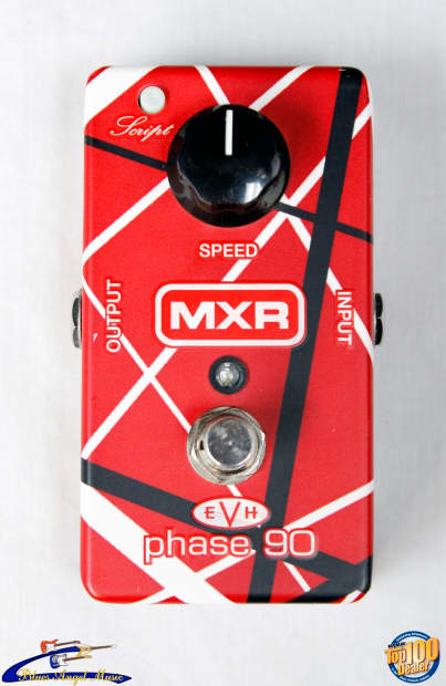 mxr evh eddie van halen phase 90 evh90 2 mode phaser reverb. Black Bedroom Furniture Sets. Home Design Ideas
