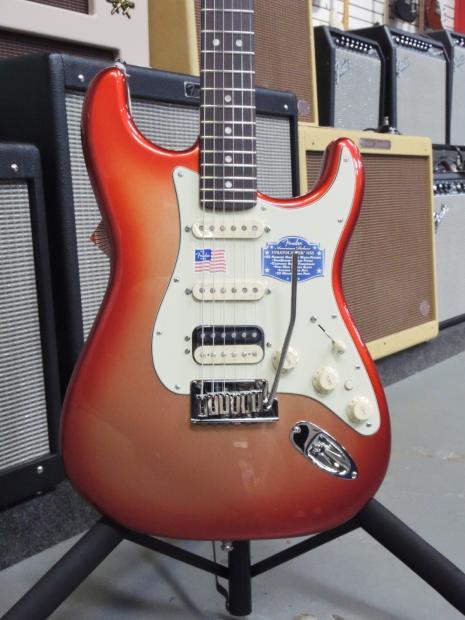 Fender American Deluxe Stratocaster Hss 2015 Sunset