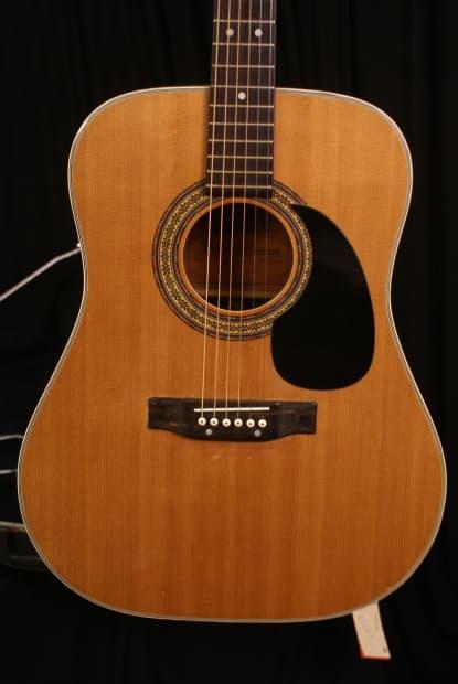 alvarez 5023 1970s made in japan acoustic guitar with a reverb. Black Bedroom Furniture Sets. Home Design Ideas