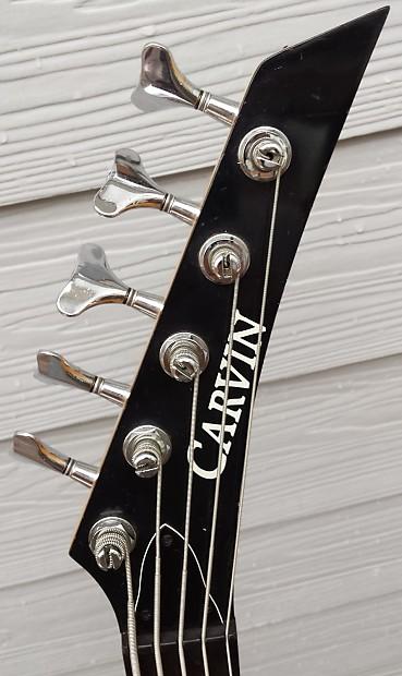 carvin usa lb75 5 string bass guitar reverb. Black Bedroom Furniture Sets. Home Design Ideas