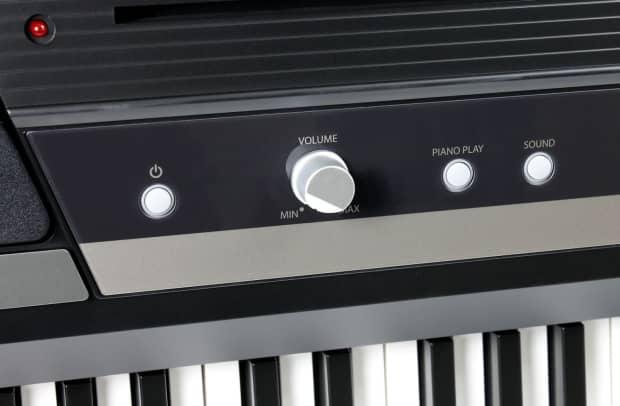 korg sp 170s black 88 key weighted action digital piano reverb. Black Bedroom Furniture Sets. Home Design Ideas