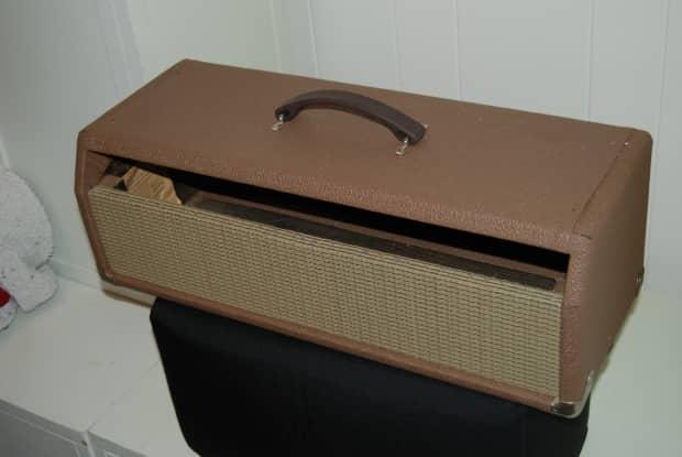 empty 1967 fender showman fits bandmaster head cabinet reverb. Black Bedroom Furniture Sets. Home Design Ideas