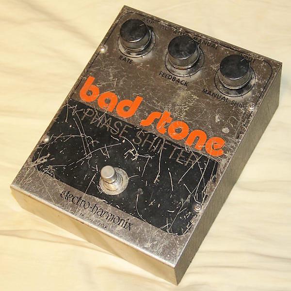 electro harmonix bad stone analog phase shifter 1970s reverb