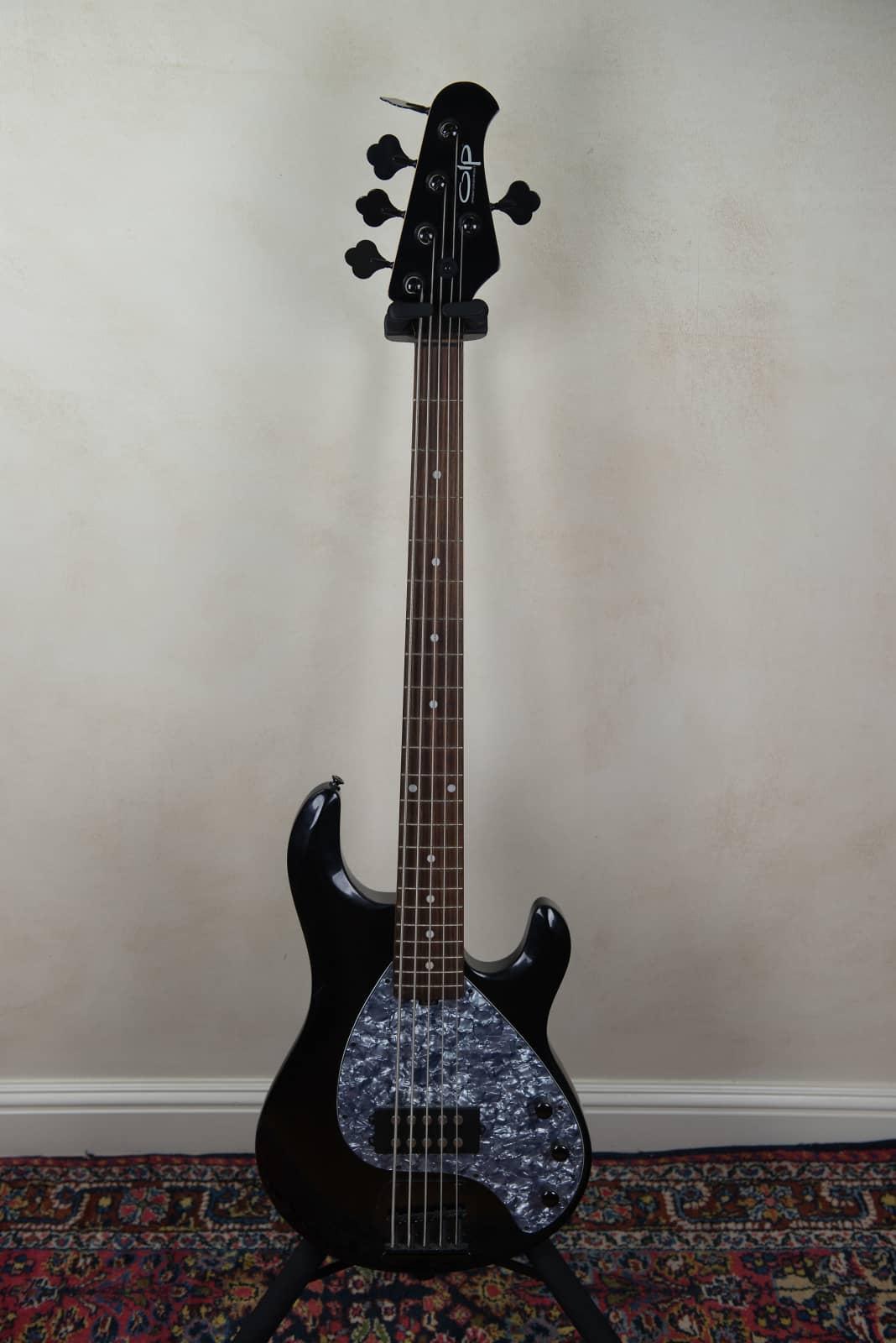 olp 5 string bass black reverb. Black Bedroom Furniture Sets. Home Design Ideas