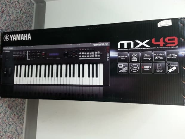 yamaha mx49 keyboard reverb