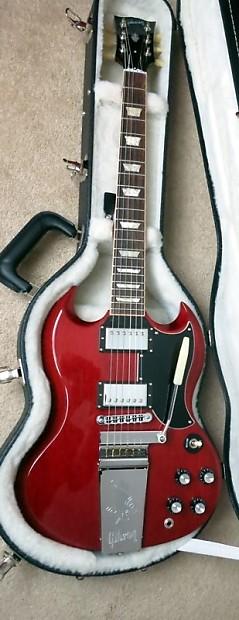 Gibson Sg 61 Reissue Wiring Diagram : Gibson sg original ri w maestro vibrola vos wiring