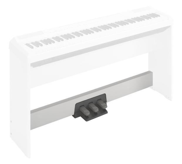 Yamaha lp5a 3 pedal unit for p35 p85 p95 p105 digital for Yamaha piano pedal unit
