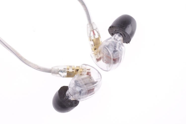 Shure SE535-CL Sound Isolating Earphones with Clear Detachable Cable