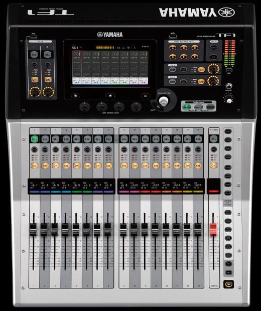 Yamaha Tf1 Touchflow 16 Channel 40 Input Digital Mixing