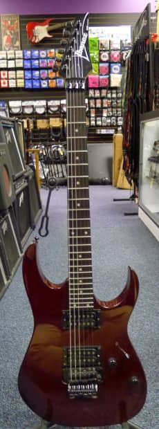 ibanez rg 220 electric guitar w floyd rose tremolo free reverb. Black Bedroom Furniture Sets. Home Design Ideas