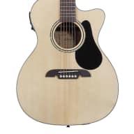 <p>Alvarez Regent Series 27&#039;s Folk/OM Electric Acoustic Guitar</p>  for sale