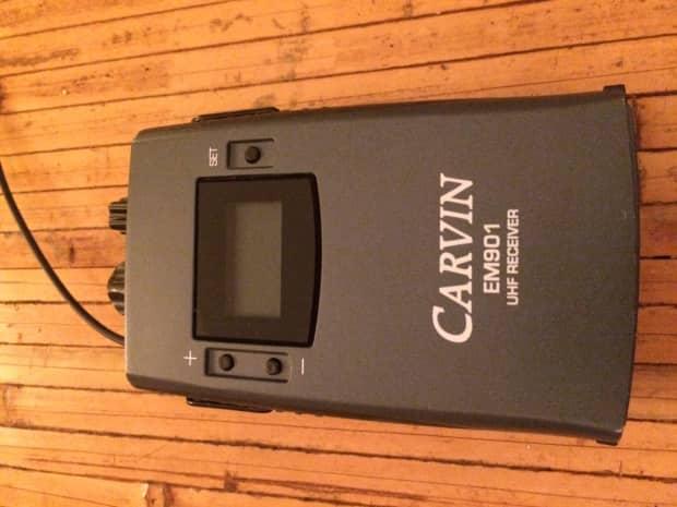 carvin em900 wireless in ear monitor system reverb. Black Bedroom Furniture Sets. Home Design Ideas