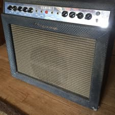 Ampeg G-12 Gemini I 1966? Blue Check 1X12 combo with reverb and tremolo image
