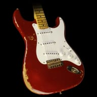 Used 2014 Fender Custom 60th Anniversary '54 Stratocaster Electric Guitar Cimarron Red