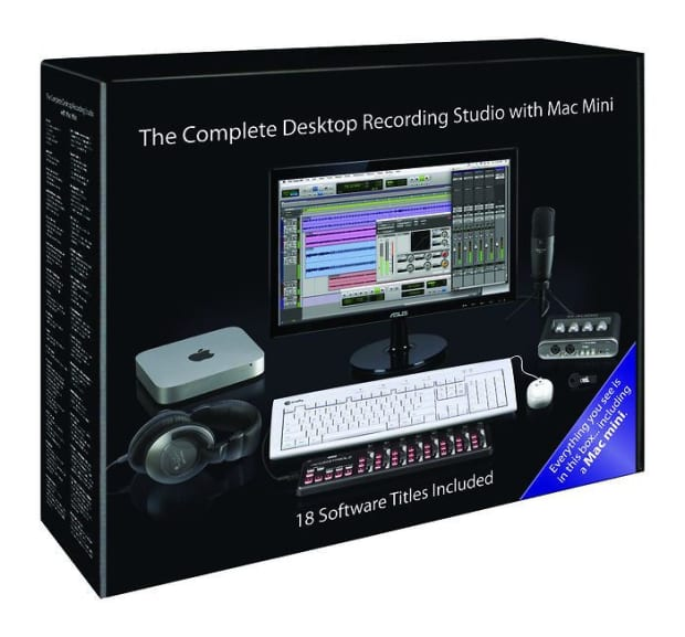 apple the complete desktop recording studio mac mini reverb. Black Bedroom Furniture Sets. Home Design Ideas