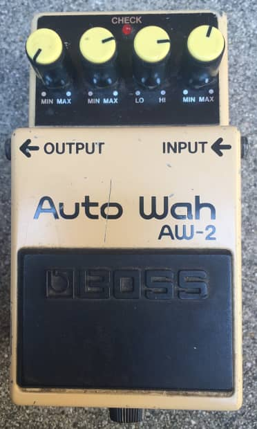 boss aw 2 auto wah guitar bass effects pedal reverb. Black Bedroom Furniture Sets. Home Design Ideas