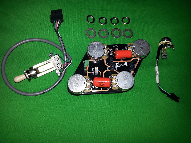 gibson les paul wiring harness,toggle & input jack. 022 ... les paul input jack wiring