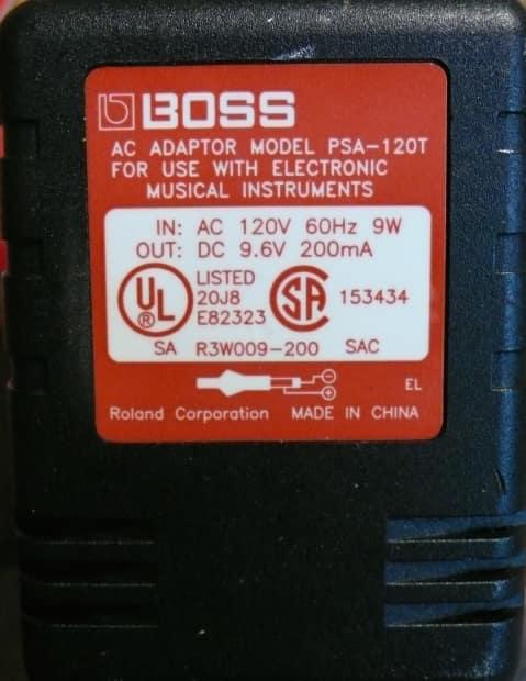 boss psa 120t 9 volt dc guitar effects pedal stompbox reverb. Black Bedroom Furniture Sets. Home Design Ideas