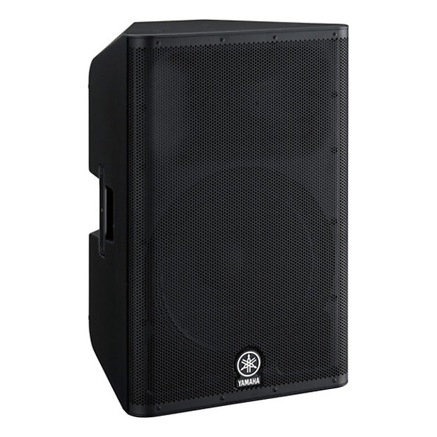 Yamaha dxr15 15 2 way active powered loudspeaker reverb for Yamaha powered speakers review