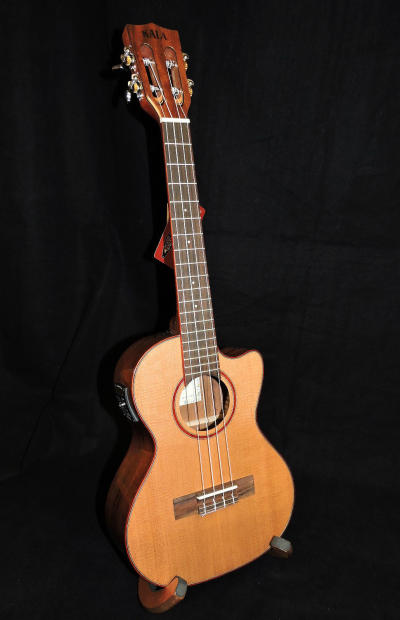 kala ka atp ctg ce solid cedar top acoustic electric tenor ukulele reverb. Black Bedroom Furniture Sets. Home Design Ideas