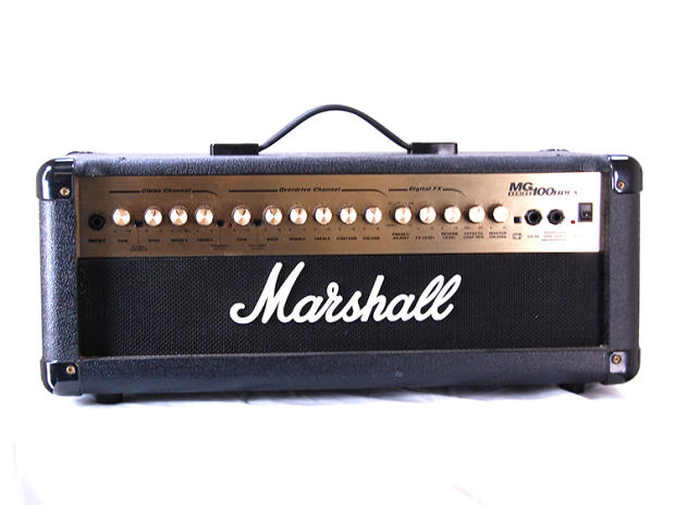 marshall mg100hdfx 100w guitar amp head with built in effects reverb. Black Bedroom Furniture Sets. Home Design Ideas