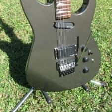 1980's Kaman GTX 23 electric guitar w/ floyd style trem  Metallic Gray like dinky or rg565 s/h nice image