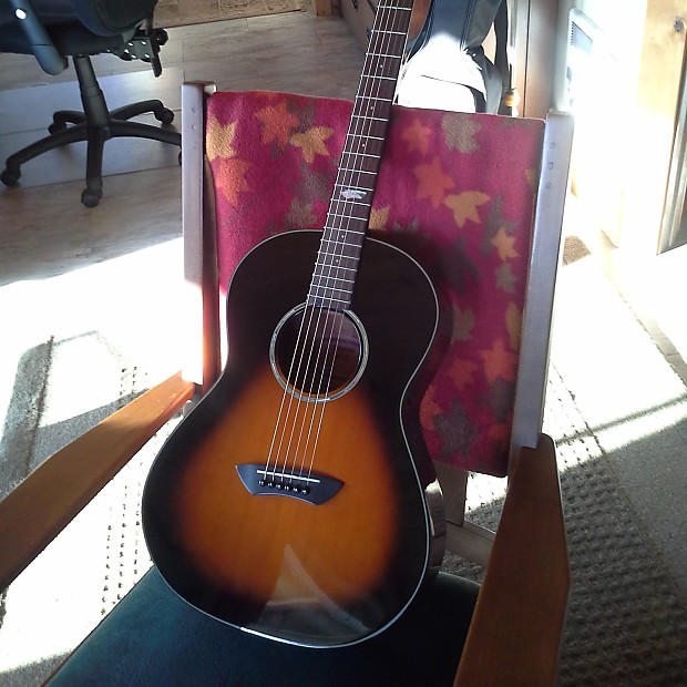 Yamaha Csf60 All Solid Wood Parlor Guitar 2003 2 Color