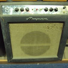 Ampeg  gs-12R Reverberocket II guitar amp 1960s  Blue Diamond image
