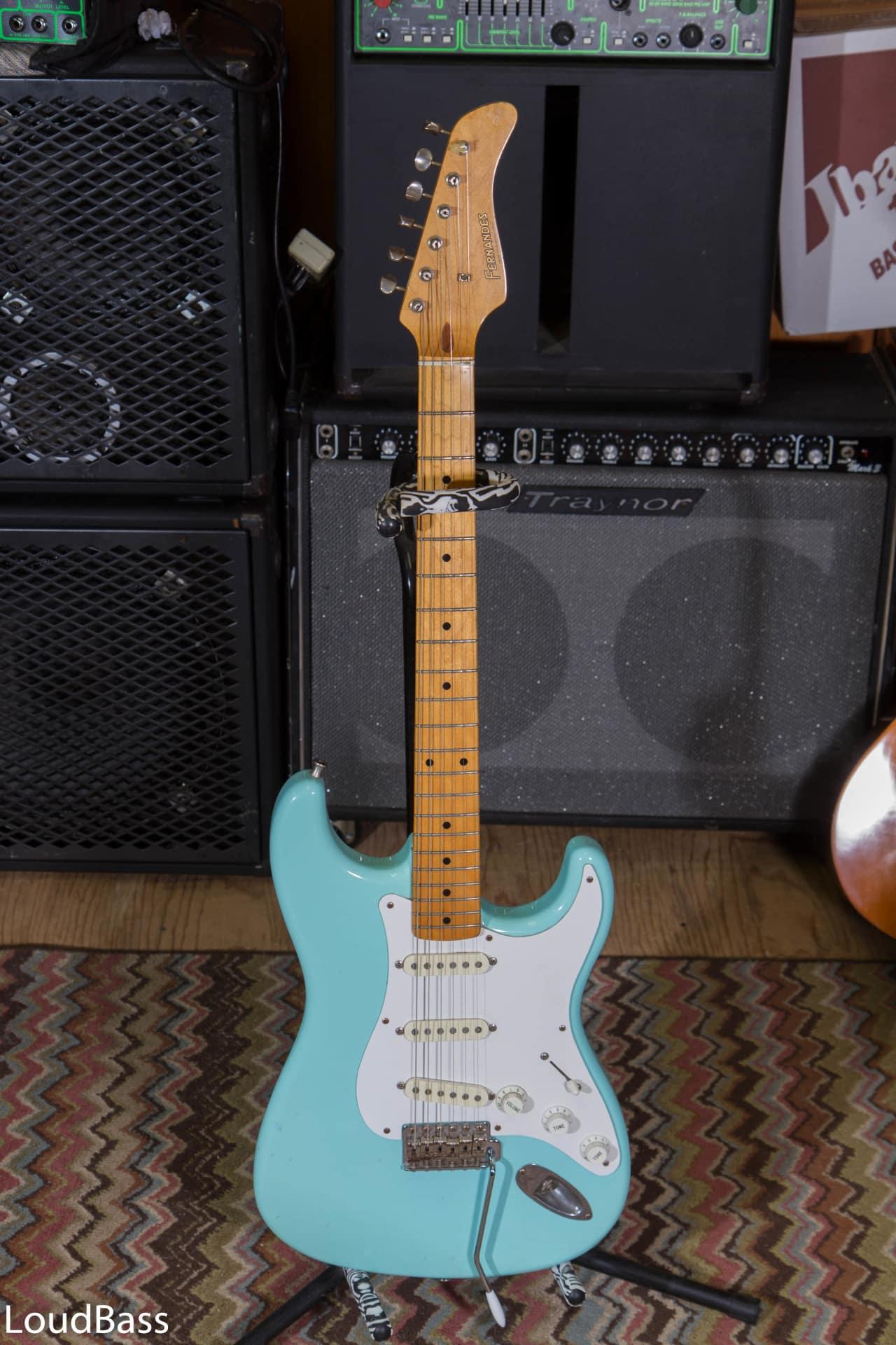 Glory Auto Sales >> Fernandes LE-1 late 80's Daphne Blue 50's Stratocaster Maple | Reverb