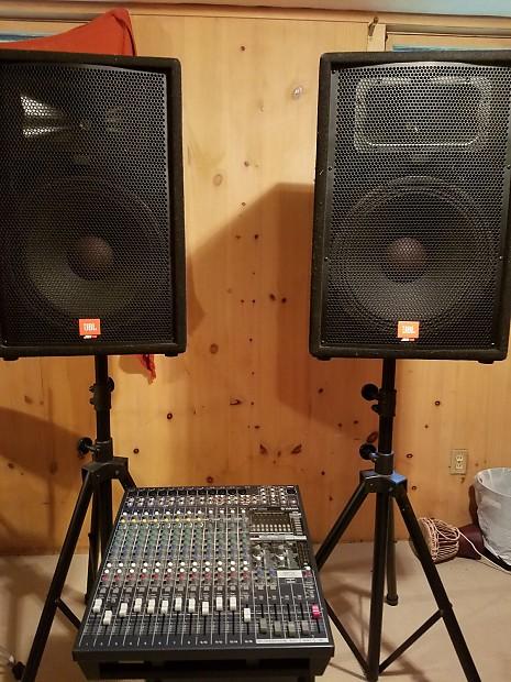 complete pa sound system package free regional delivery reverb. Black Bedroom Furniture Sets. Home Design Ideas