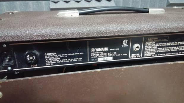 Yamaha jx55 1980 39 s brown reverb for Yamaha thr10 pedals