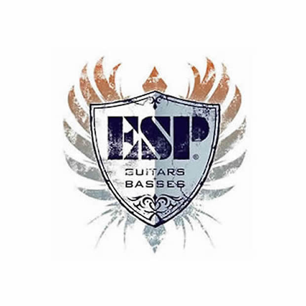 ESP ALEXI LAIHO GREENY Black w/ Lime Green Pinstripe & Skull COBHC ...