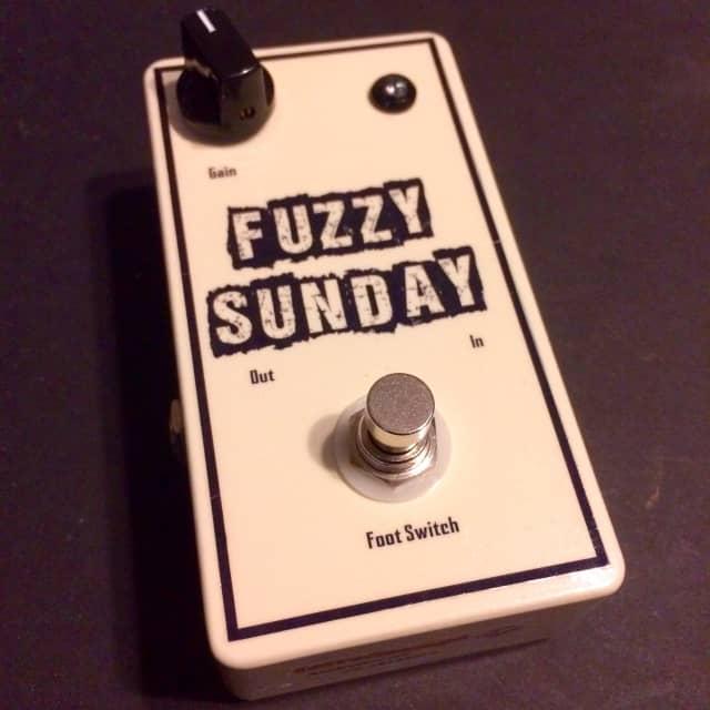 "JerroStomps ""Fuzzy Sunday"" One Knob Fuzz! image"