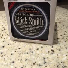 PRICED TO SELL! - 10 Sets Of 9-42 BlackSmith Carbon Coated Phosphor Bronze Acoustic Strings image