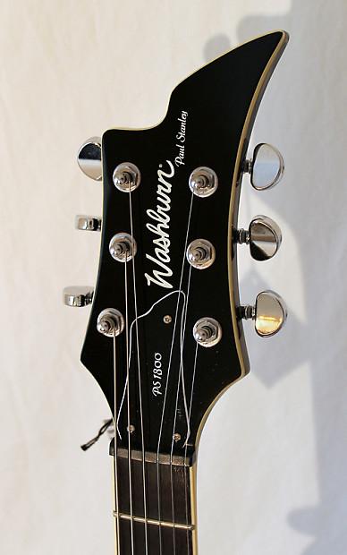Paul stanley washburn cracked mirror guitar