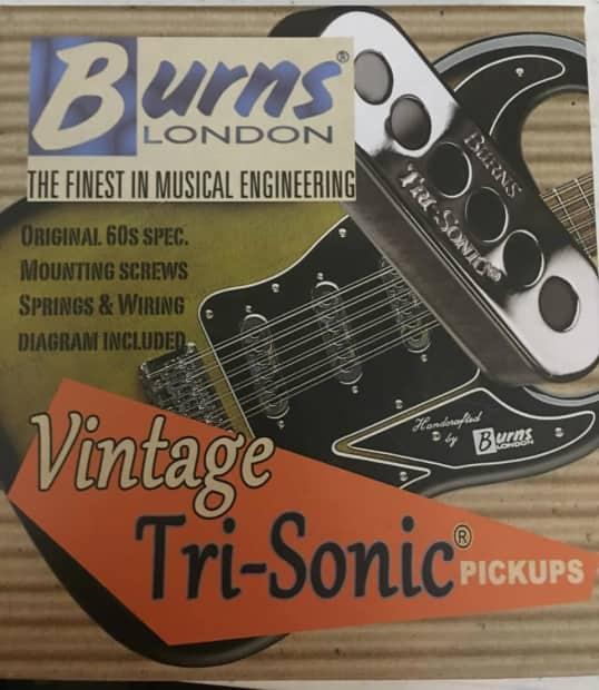 vintage tri sonic pickups set of 3 reverb. Black Bedroom Furniture Sets. Home Design Ideas