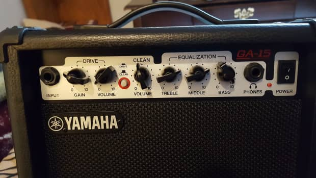 Yamaha ga 15 2010 15 watt guitar amplifier reverb for Yamaha albany ga