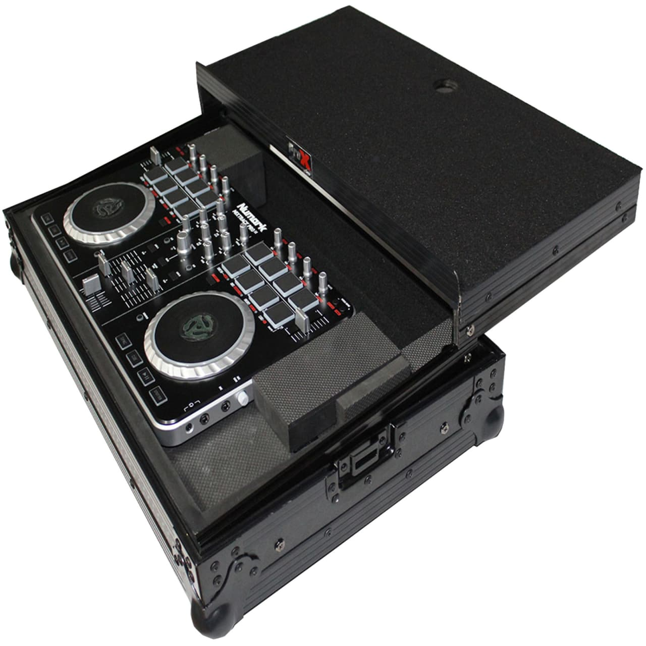 prox x mxtsbltbl black hard case pioneer ddj sb numark. Black Bedroom Furniture Sets. Home Design Ideas