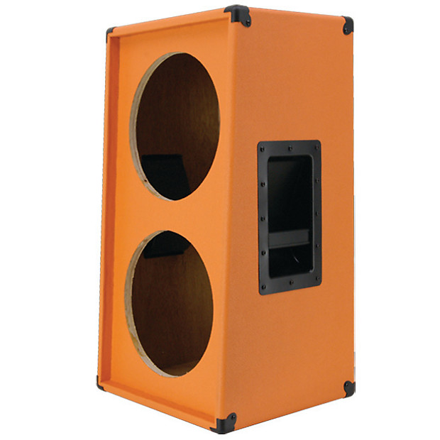 2x12 vertical guitar speaker empty cabinet orange tolex reverb. Black Bedroom Furniture Sets. Home Design Ideas