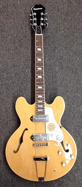 Epiphone Casino  Elitist Natural Made