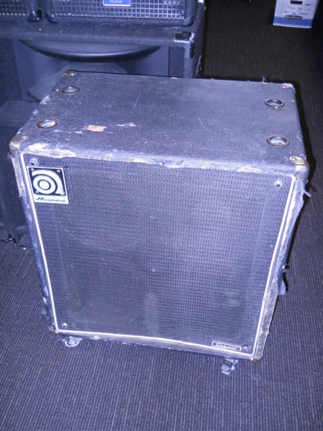 1995 ampeg svt classic 4x10 bass guitar speaker cabinet reverb. Black Bedroom Furniture Sets. Home Design Ideas
